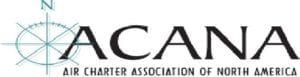 The Priority Jet ACANA Association badge